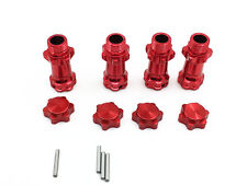 4pcs Aluminum 17mm Wheel Hex Hub Extension Adapter 30mm For 1:8 Scale RC Car