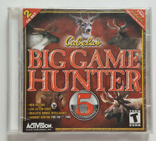 Cabela's Big Game Hunter 5 (Platinum series)-PC game-Rifle, Bow, Hunt your way!