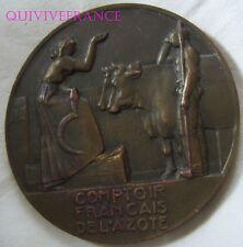 MED5597 - MEDAILLE COMPTOIR FRANÇAIS DE L'AZOTE 1932 par DAMMANN