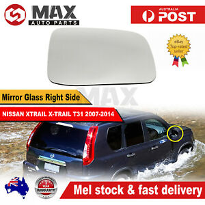 MIRROR GLASS FOR NISSAN XTRAIL X-TRAIL T31 2007-2014 RIGHT DRIVER SIDE RH