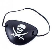Cache oeil Pirate Corsaire Tête de mort Déguisement Costume Fête Carnaval Masque