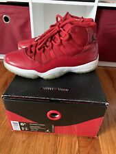 Air Jordan 11 Win Like 96 Size 8.5 Gym Red Beaters *see pics/description*