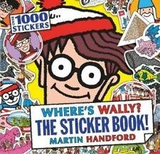 Where's Wally? the Sticker Book! by Martin Handford 9781406362114