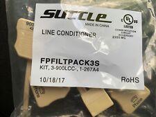 New SUTTLE Line Conditioner DSL Phone Filter 3-PACK + Splitter FPFILTPACK3S ADSL