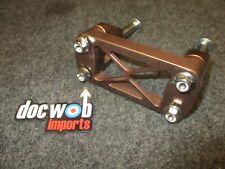 Kawasaki KX500 1988-1993 Doc Wob Superlite KHI bronze handlebar mounts BM001