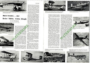 9712) Hawker Siddeley Aviation Brough - 1967 Article