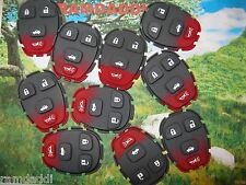 Qty10 15252034 GM Remote Key Fob Key Button Pad ONLY 22733523 15777636 QUALITY!