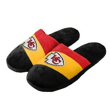 Kansas City Chiefs Youth Colorblock SLIDE SLIPPERS New - FREE SHIPPING