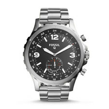 Fossil Q Nate Hybrid Stainless Steel Men's Watch