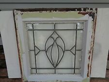 antique vintage leaded english glass rare design #1