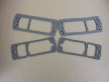 Triumph TR7 TR8 ** SET OF 4 FRONT SIDE LAMP GASKETS **Quality! NEW