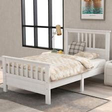 Twin/Full Size Wood Bed Frame Platform w/ headboard &footboard Bedroom Furniture