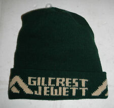 Gilcrest Jewett Lumber Company Home Builder Company Logo Winter Beanie Hat Cap