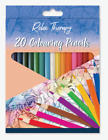 Professional 20 Colouring Pencils Artists Quality Colour Therapy Art Kids Adult