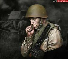 Life Miniatures Soviet Russian Infantryman Kursk WW2 1/10th Bust Unpainted kit