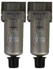 2 Pack 38 Smc Water Traps 300 Psi Air Bag Suspension Ride Tank Compressor