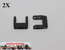 2X Lego® 87408 Technic Technik  Pin U-Verbinder Connector Schwarz Black Neu