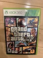 Grand Theft Auto V GTA 5 (Microsoft Xbox 360 Complete w/ Manual & Map CIB)