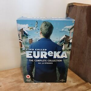 Town Called Eureka The Complete Collection Dvd