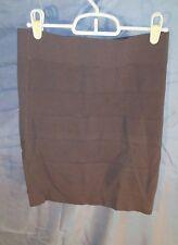 French Connection Dani Crepe Mini Bandage Skirt Dynamite Gray sz 6 NWT