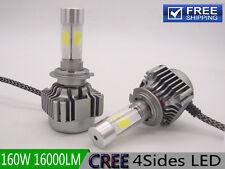 H1 H4 H7 H11 160W 16000LM White 6000K CREE LED Car Bulb Headlight Conversion Kit