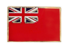 Merchant Navy Red Ensign Flag Pin Badge