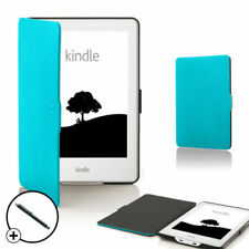 Carcasa azul de piel para reproductores MP3