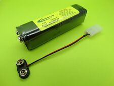 1000mA 9V NICAD Tx BATTERY FOR JR X378  XR2i XR3i / NC1008B-9V / MADE IN USA