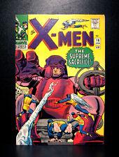 COMICS:Marvel: X-men #16 (1966, vol 1), death of Bolivar Trask/3rd Sentinels app