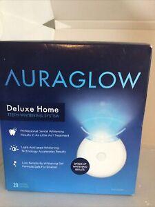 AURAGLOW Teeth Whitening Kit,LED Light,35% Carbamide Peroxide