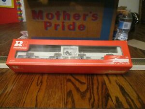 RIVAROSSI  LOG CAR SET WITH TWO LOG CARS NOS  WITH BOX NICE WITH LOGS HO