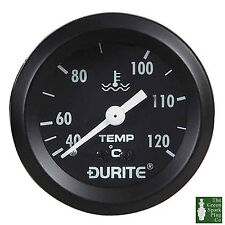 Durite - Water Temperature Gauge 52mm Mechanical with 12 ft Capillary Bx1 - 0-53