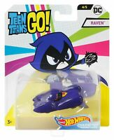 Hot Wheels FLJ14 DC Teen Titans Go! Raven Character Car Diecast Vehicle Toy