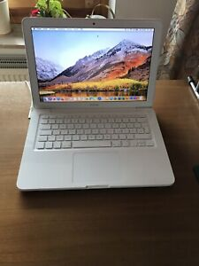 Original Apple MacBook Unibody Weiß White