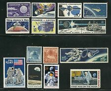 USA ATTRACTIVE COLLECTION  SPACE EXPLORATION POSTAGE STAMP MNH