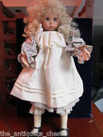 "Hillary by Dianna Effner 26"" doll, 1987, Ultimate Collection"