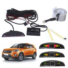 LED DC12V Electromagnetic Auto Car Parking Backup Radar Sensor Beep Alarm Kit