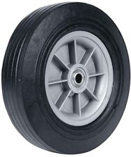 Garden Cart Wheel 10x2.75 Heavy Duty Poly Replacement For Dolly Hand Truck Wagon