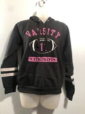 Girls Duck Head Jeans Co Black Hoodie Size M