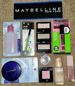 Maybelline Cosmetics Lot💥All New/Unused 💥Fair/Neutral Tones Complete Face Set