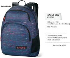 NEW Dakine Hana 26L Marlo Blue Girls Backpack Bookbag Daypack School Bag Msrp$40