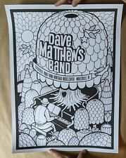Dave Matthews Band DMB Color Your Own Poster 6/28/19 Noblesville IN