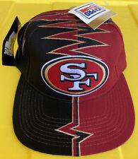 NWT Vintage 90s San Francisco 49ers Starter Darkside DS Shockwave Slasher Hat