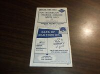 FEB. 1965 RDG READING COMPANY FORT WASHINGTON FELLWICK, PA OFFICIAL TIME TABLE