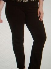 NEW NYDJ Not Your Daughters Jeans pants HAYDEN mahogany brown straight sz 22W