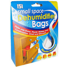 151 Small Space Dehumidifier Bags 2 Sachets Helps Stop Damp, Mould and Mildew