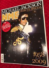 ** MICHAEL JACKSON UK NME TRIBUTE MAGAZINE 2009 RARE ITEM**
