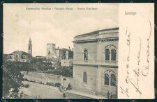 Vicenza Lonigo Parrocchia Vecchia Palazzo Pisani Banca Popolare cartolina RB8717