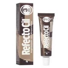 Productos de maquillaje de ojos marrones de crema