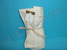 Pottery Barn Linen Hemstitch Tablecloth Kitchen Dining Room Table Ivory 70x90